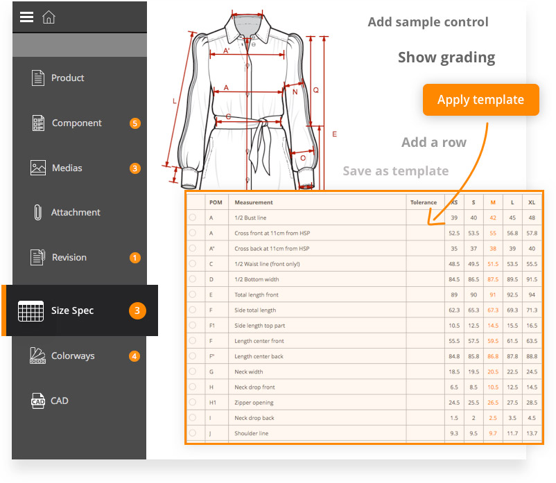 Fashion product lifecycle management with C-DESIGN PLM