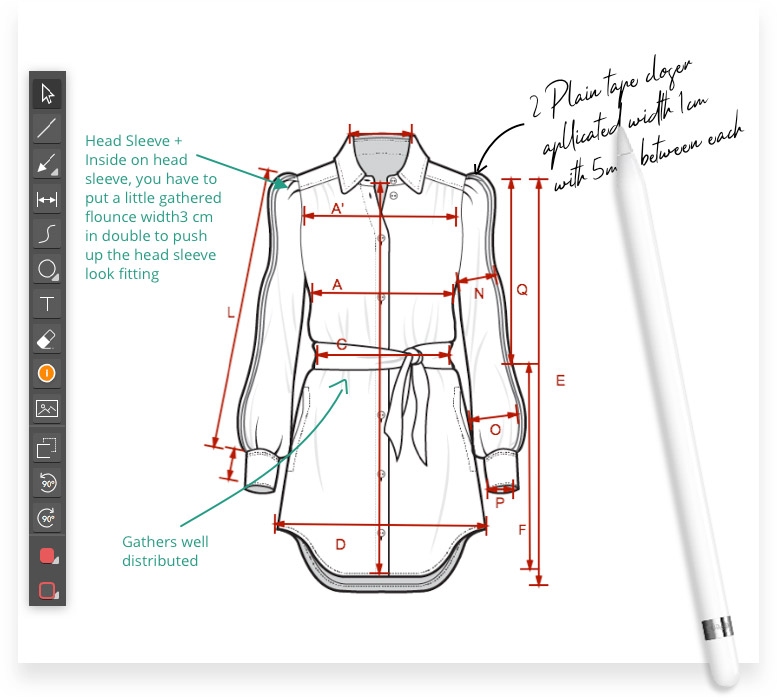 سی دیزاین در طراحی لباس
